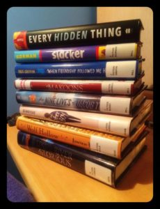 October 2016 Readathon Stack