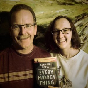 Dad and Jenna read Every Hidden Thing