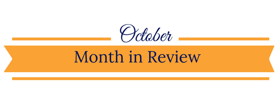 October Month in Review banner