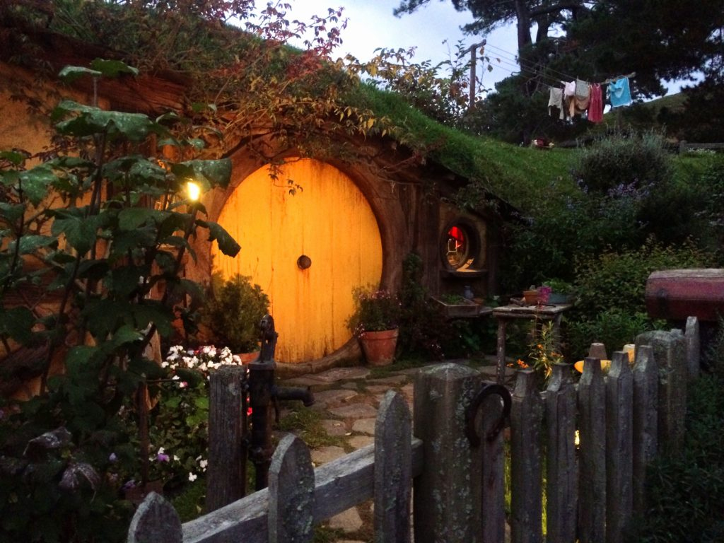 Sam's hole, Hobbiton