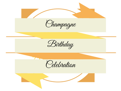 Champagne Birthday Celebration