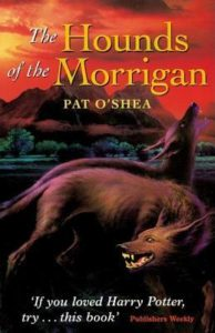 The Hounds of the Morrigan book cover