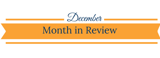 December month in review banner