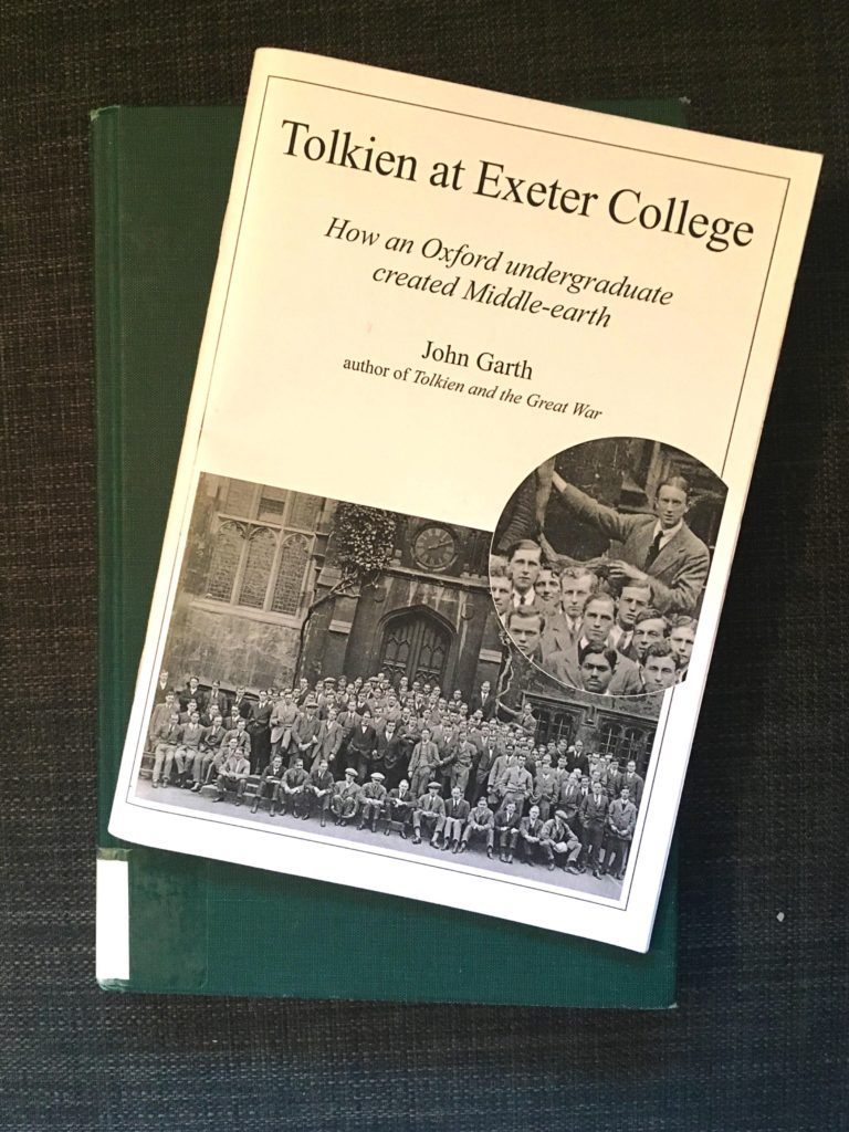 Cover of Tolkien at Exeter College
